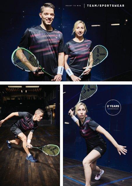 VICTOR Squash Katalog 2020/21