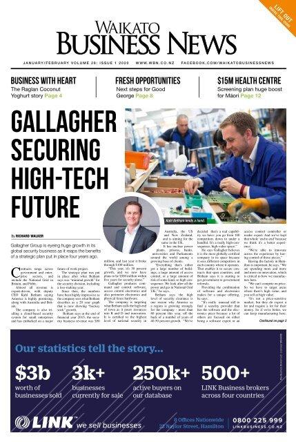 Waikato Business News January/February 2020