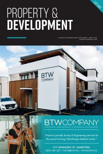 Waikato Business News - Property Insert January/February 2020