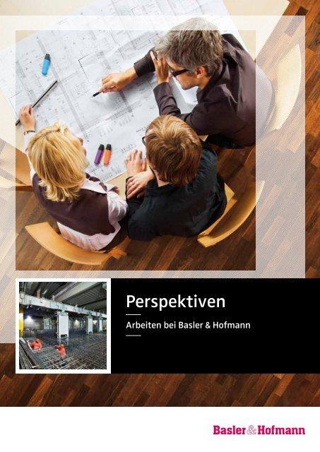 Perspektiven - Basler & Hofmann