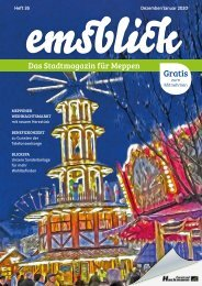 Emsblick Meppen - Heft 35 (Dezember 2019/Januar 2020)