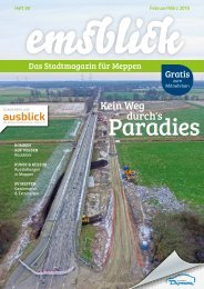 Emsblick Meppen - Heft 30 (Februar/März 2019)
