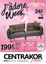 Centrakor catalogue 3-9 fevrier 2020