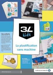 La plastification sans machine
