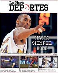 La Hora Deportes 27-01-2020