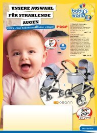 Baby Hartwarenflyer I 2020 | BH10