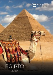 CATALOGO EGIPTO DYNAMIC TOURS 2020