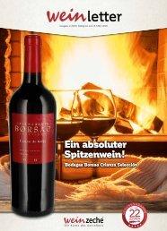 Weinzeche Weinletter 2_2020 – Die Kunst des Genießens