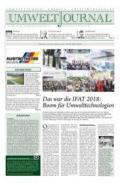 UmweltJournal Ausgabe 2018-04