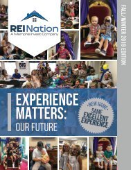 REI Nation Experience Matters Magazine - Fall/Winter 2019