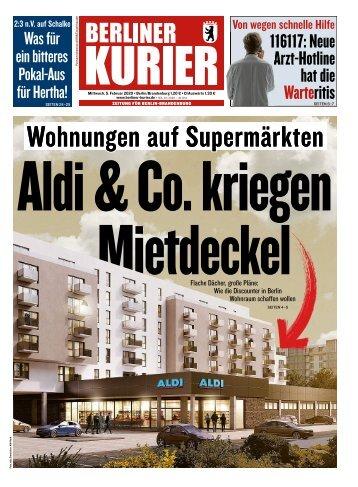 Berliner Kurier 05.02.2020