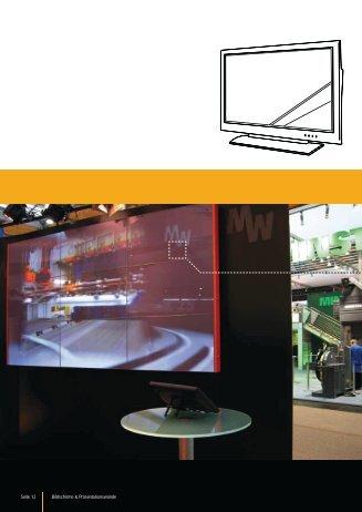 Seite 12 Bildschirme & Präsentationswände
