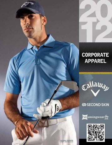 Callaway Catalogue - Second Skin Corporate