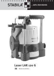 Laser LAR 120 G - Stabila