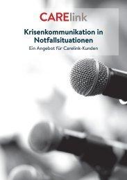 Krisenkommunikation in Notfallsituationen