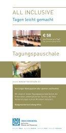 Tagungspauschale - Karlsruhe