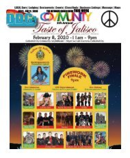 FEB 5 - FEB 11, 2020 THE ULTIMATE PALM SPRINGS AREA QUEER GUIDE THIS WEEK