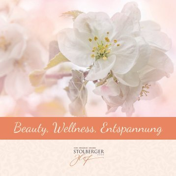 Beauty, Wellness, Entspannung im Hotel Stolberger Hof