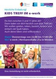 Kids-Treff im e-werk