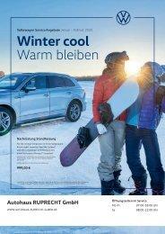 Autohaus Ruprecht - Winter cool, warm bleiben