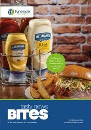 Tyneside Foodservice Tasty Bites Feb 2020