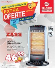 Extra oferte nr. 06 Non-Food (promovare exclusiv online)