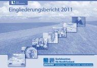 Eingliederungsbericht 2011 - jobcenter   SGB II Reform