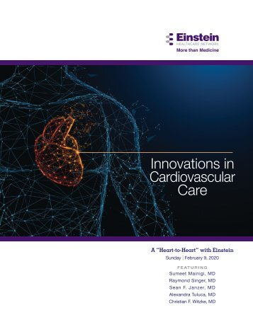 Innovations in Cardiology