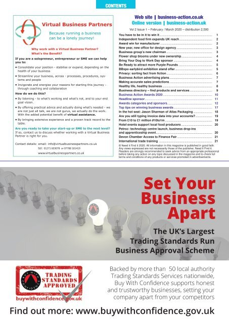 Business Action | February / March 2020