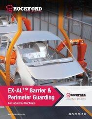 Rockford Systems EX-AL (Extruded Aluminum) Barrier & Perimeter Guarding Catalog