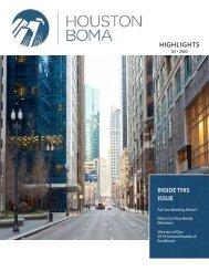 Houston BOMA Highlights, Q1 2020