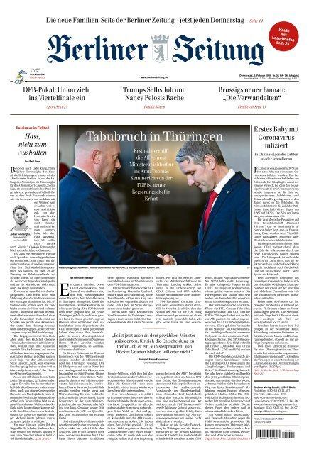 Berliner Zeitung 06.02.2020