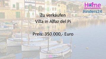 Villa mit Pool in der schönen Gegend von Alfaz del Pi (CHA0008)