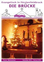 aktuelle Ausgabe - Evangelische Erlöserkirche Fürstenfeldbruck