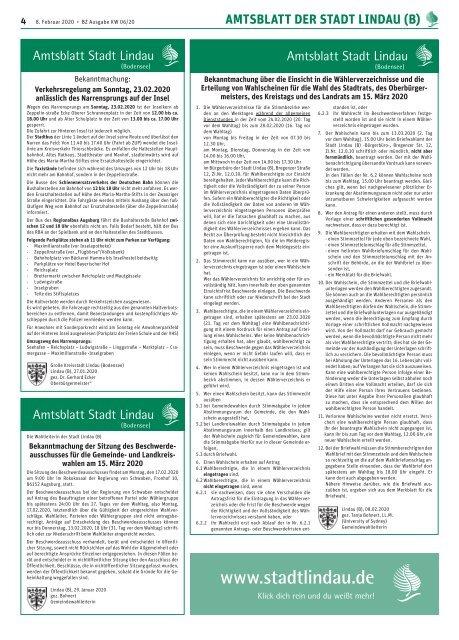 08.02.2020 Lindauer Bürgerzeitung