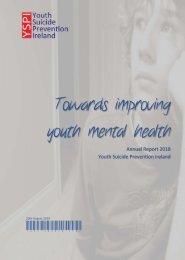 Towards Improving Youth Mental Health - Annual Report 2018