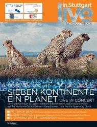 live in.Stuttgart Frühjahr 2020