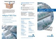 AIRplus BIO Folie Flyer