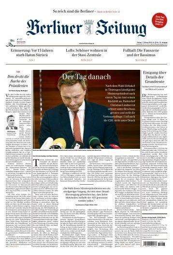 Berliner Zeitung 07.02.2020