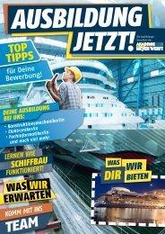 AUSBILDUNGSDAUER: 3,5 JAHRE - Meyer Werft