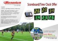 Light Magic Electronic Scoreboard - Momentum 2020