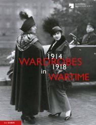 Sample: Wardrobes in Wartime 1914-1918, Fashion and Fashion - Images during the First World War