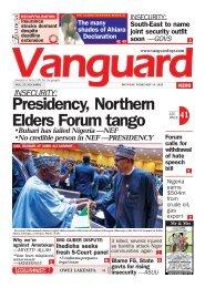 10022020 - Presidency, Northern Elders Forum tango