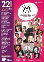 Montreux Comedy 2011