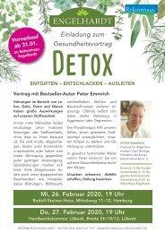 Peter Emmrich: Vortrag zu Detox