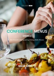 Conference Catering Drinks 16.5.2020--