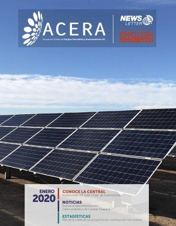 Newsletter ACERA - Enero 2020