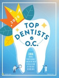 Top Dentists of O.C. 2020