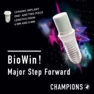 BioWin! Major Step Forward