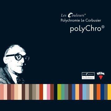 poLyChro® - Polychromie Le Corbusier